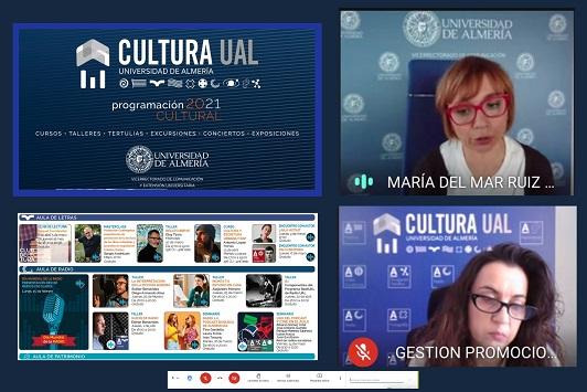 Casi un centenar de propuestas culturales de la UAL para el segundo cuatrimestre