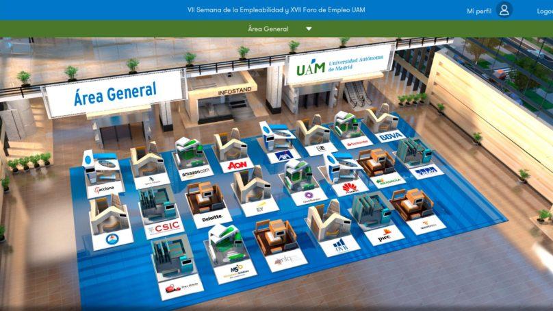 El XVII Foro de Empleo y VII Semana de la Empleabilidad  abren hoy sus puertas virtuales en la UAM