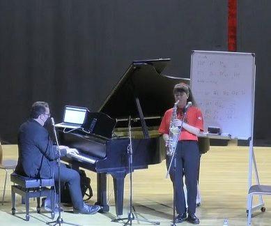 La multiinstrumentista Irene Reig, protagonista de la segunda Masterclass UAL Jazz