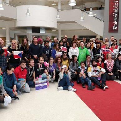 Bienvenida Erasmus de la UHU para un centenar de nuevos estudiantes internacionales