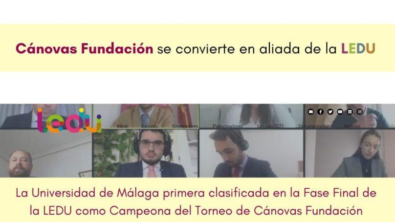 La UMA se clasifica como finalista de la Liga Española de Debate Universitario