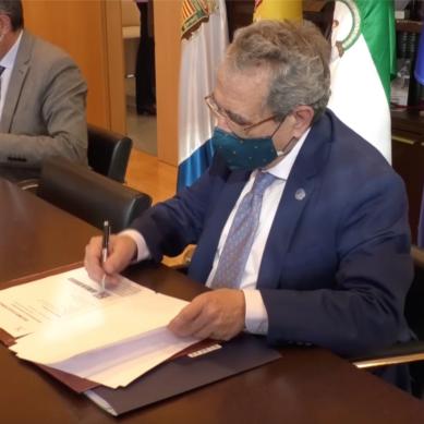 La Universidad de Málaga y la Diputación han renovado su colaboración en la provincia