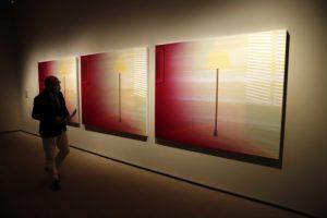 El Centro Cultural Fundación Unicaja de Málaga acoge una exposición con las obras del XIV Certamen Fundación Unicaja de Artes Plásticas