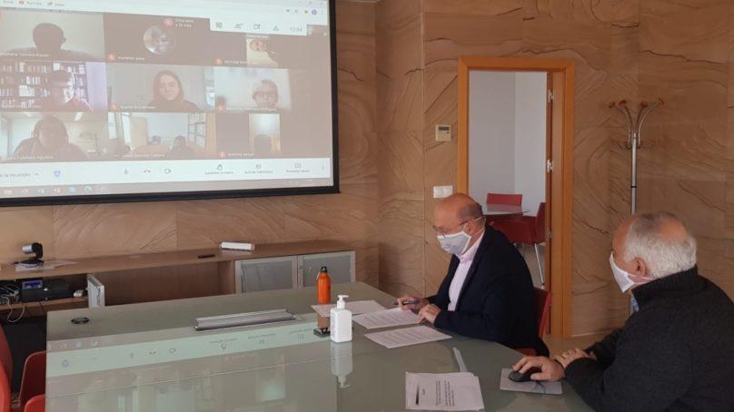 Jornada de bienvenida online para el alumnado internacional de la UCA