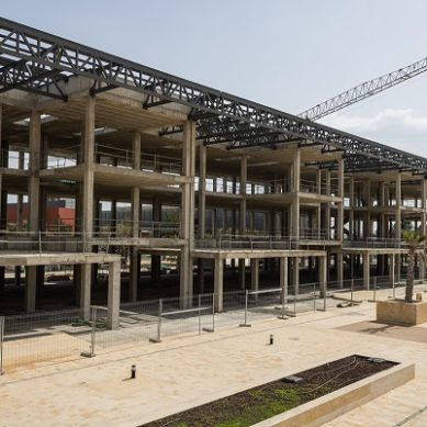 La soledad del campus por la pandemia permite acelerar las obras en la UAL