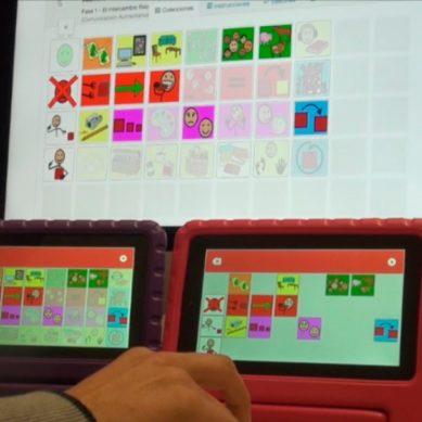 Desarrollan una aplicación que se basa en el uso de pictogramas para aprender a comunicarse