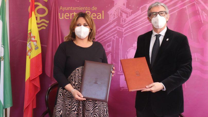 La UCA y Puerto Real refuerzan su alianza para que el municipio sea subsede de la Escuela de Cine