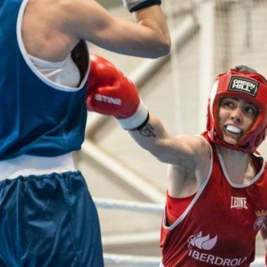 Una joven promesa para el boxeo femenino en la UJA