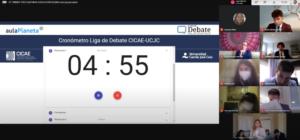 Torneo de Debate tres cUlturas equipo de la ADUMA