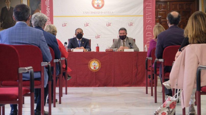 La US y el Ayuntamiento firman un acuerdo para impulsar el desarrollo de la ciudad y la Universidad