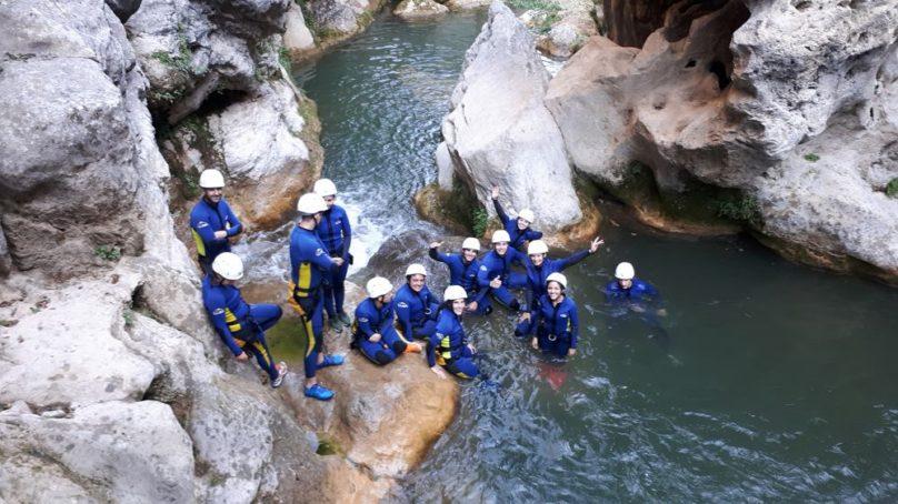 Piragüismo, barranquismo, rafting y otras actividades para conocer los tesoros naturales de la provincia