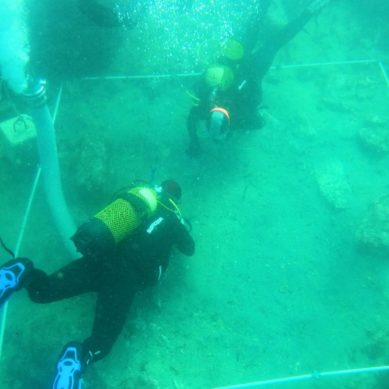 Estudiantes de la UCA realizan prácticas de buceo científico y arqueología subacuática