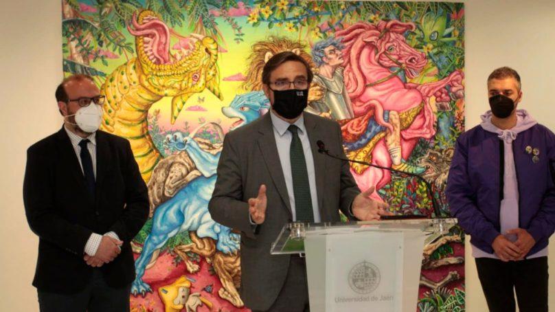 El artista jiennense Miguel Scheroff expone la muestra 'Después del Tiempo' en la UJA