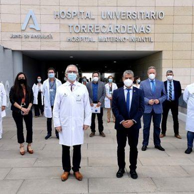 La UAL pone en valor su importante relación con el Hospital Universitario Torrecárdenas