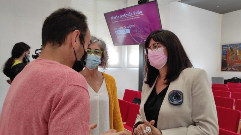 María Antonia Peña aborda los retos de la UHU en su primer acto de precampaña