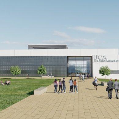 El segundo aulario del Campus de Jerez tendrá capacidad para más de 2.000 estudiantes