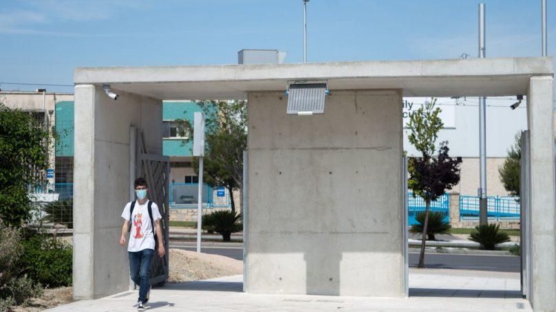 Nuevo acceso peatonal al Campus de la UJA
