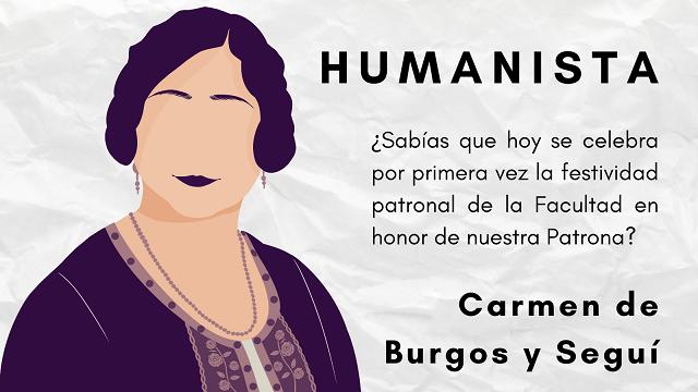 La Facultad de Humanidades celebra el día de su patrona, la única mujer en la UAL