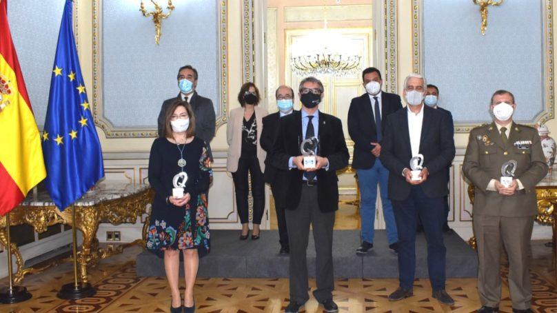 La UCA obtiene el 'Premio a la Excelencia en la Gestión Pública' concedido por el Gobierno de España