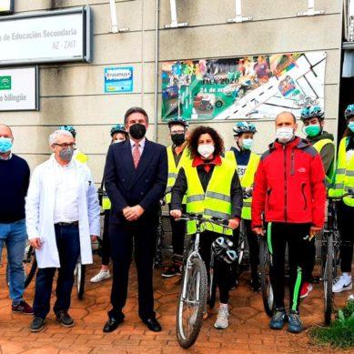 Fomentan el uso de la bicicleta como medio de transporte urbano en estudiantes de Secundaria