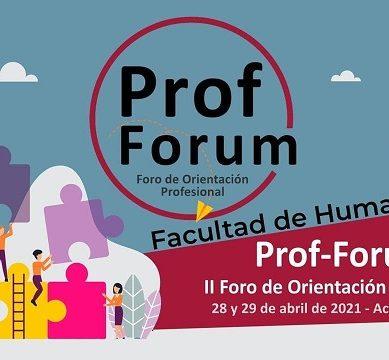 La Facultad Humanidades UHU impulsa el II Prof-Forum de orientación profesional