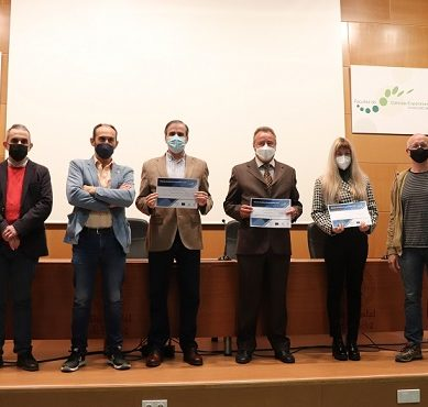 La Onubense entrega sus I Premios Iniciativas Empresariales de la OTRI