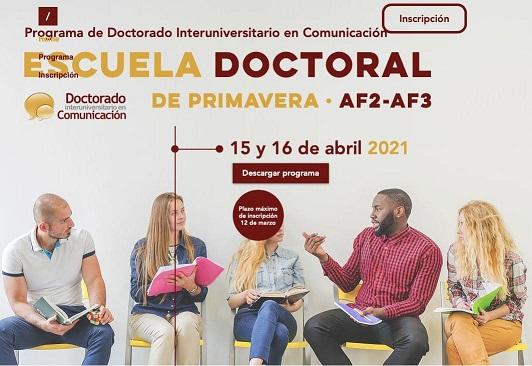 Celebrada la Escuela Doctoral de Primavera de la UHU