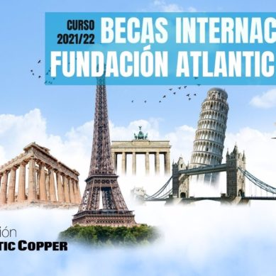 Becas internacionales para universitarios de la Fundación Atlantic Copper