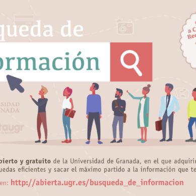 """La UGR ofrece la segunda edición del curso MOOC """"Búsqueda de Información"""""""