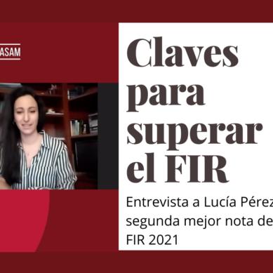 La segunda mejor calificación de España en el FIR nos cuenta su experiencia