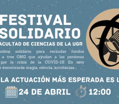 El I Festival Solidario de la Facultad de Ciencias de la UGR recauda fondos para luchar contra la crisis del covid-19