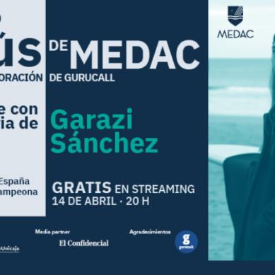 Garazi Sánchez, campeona de surf, próxima invitada en 'Charlando con los gurús'