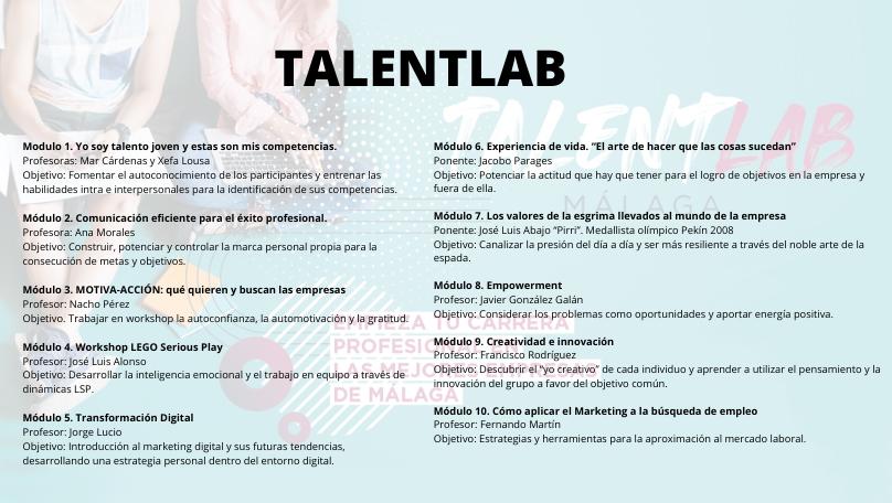 programa talentlab