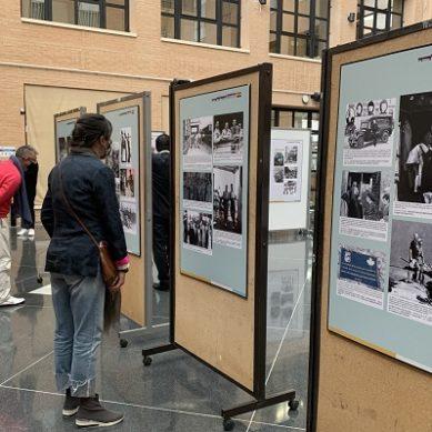 La UAL acoge una exposición sobre los voluntarios chinos en la Guerra Civil Española