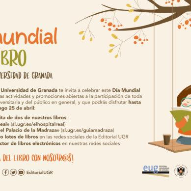 La Editorial Universidad de Granada celebra el Día del libro con descargas gratuitas y sorteos