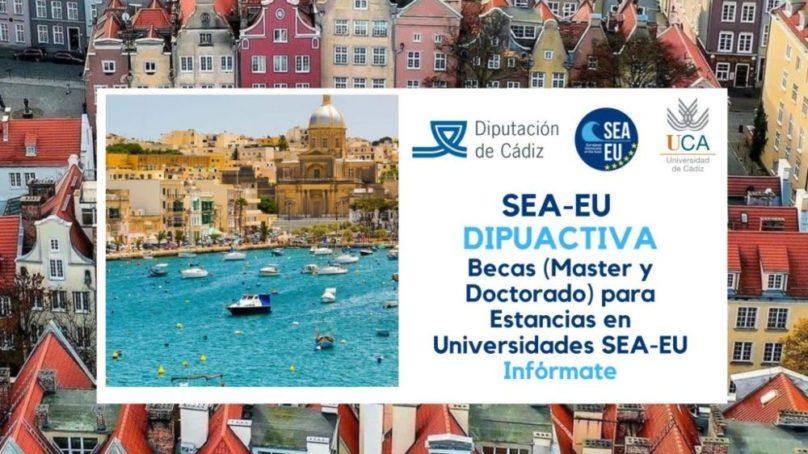 La UCA convoca 10 becas para realizar estancias internacionales en las universidades de la alianza SEA-EU