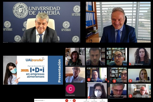 El Programa UALtransfierE mantiene su compromiso con el entorno socioeconómico de Almería