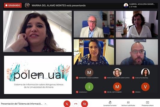 Presentado el proyecto UAL Polen, un 'semáforo' para conocer la incidencia de alérgenos en el aire