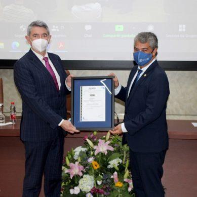 AENOR hace entrega de su certificado frente a la Covid-19 a la UAL