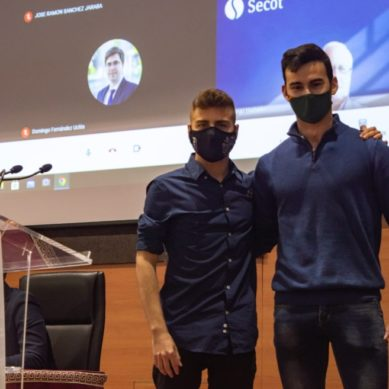 Dos emprendedores 'made in' UJA