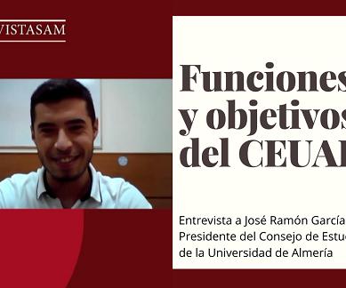 """José Ramón García: """"Ser representante estudiantil supone un desarrollo personal impresionante"""""""