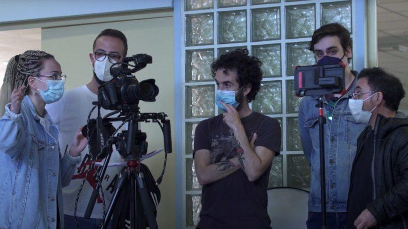 Estudiantes de la UJA ruedan su primer corto en un taller de cine