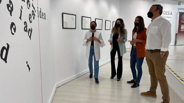María JL Hierro lleva su exposición de poesía visual 'Tipoesía' hasta la UHU