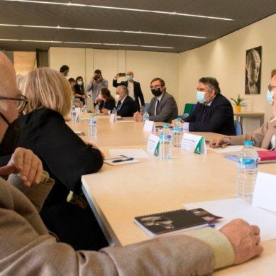Reunión estratégica para incluir al Museo Íbero de Jaén en la red nacional