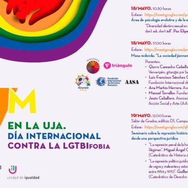 La UJA programa diversas actividades para conmemorar el Día Internacional contra la LGTBIFobia