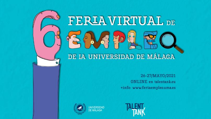 Arranca la sexta edición de la Feria de Empleo de la Universidad de Málaga