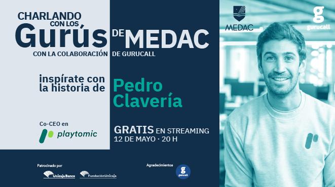 Inspírate este miércoles con Pedro Clavería
