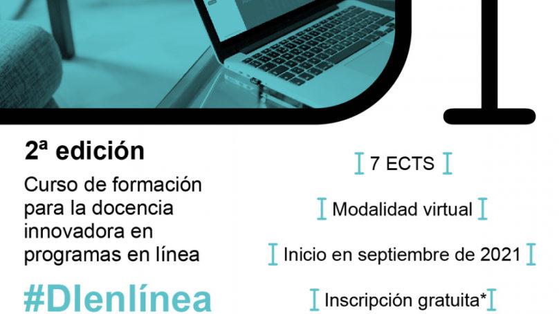 La UNIA abre el plazo de matrícula del SPOC Formación para la docencia innovadora en programas online #Dienlínea