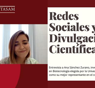 """Ana Sánchez Zurano: """"TikTok funcionaría estupendamente para acercar la ciencia a los jóvenes"""""""