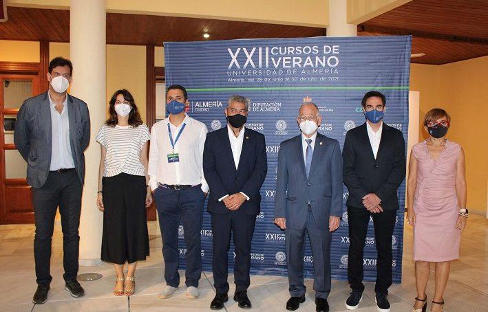 Inaugurados los XXII Cursos de Verano de la Universidad de Almería